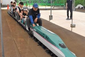 信濃川河岸段丘ウォークが開催されました(4月29日)